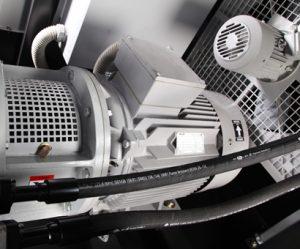 Trolley Mounted Air Compressor 1