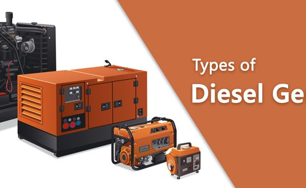 Types of diesel generators and usage
